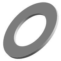 Translucent silicone vlakke rubber ringen