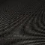 Ribloper fijn zwart 3 mm