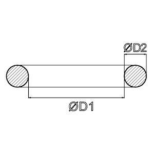 O-RING-209.1x8.4 NBR 70 SHORE