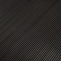 Vloerrubber Ribloper fijn zwart