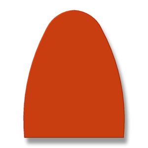 driehoekprofiel afgerond