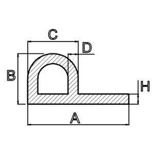silicone kraalprofiel