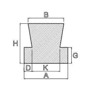 siliconenrubber trap profiel