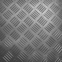 Voerrubber Checkermat grijs