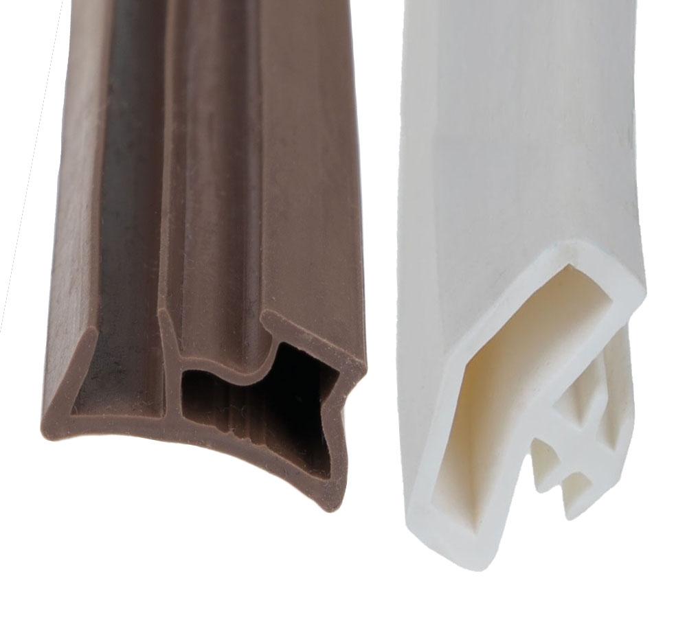 Silicone rubber profielen