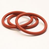 O-ringen van siliconenrubber