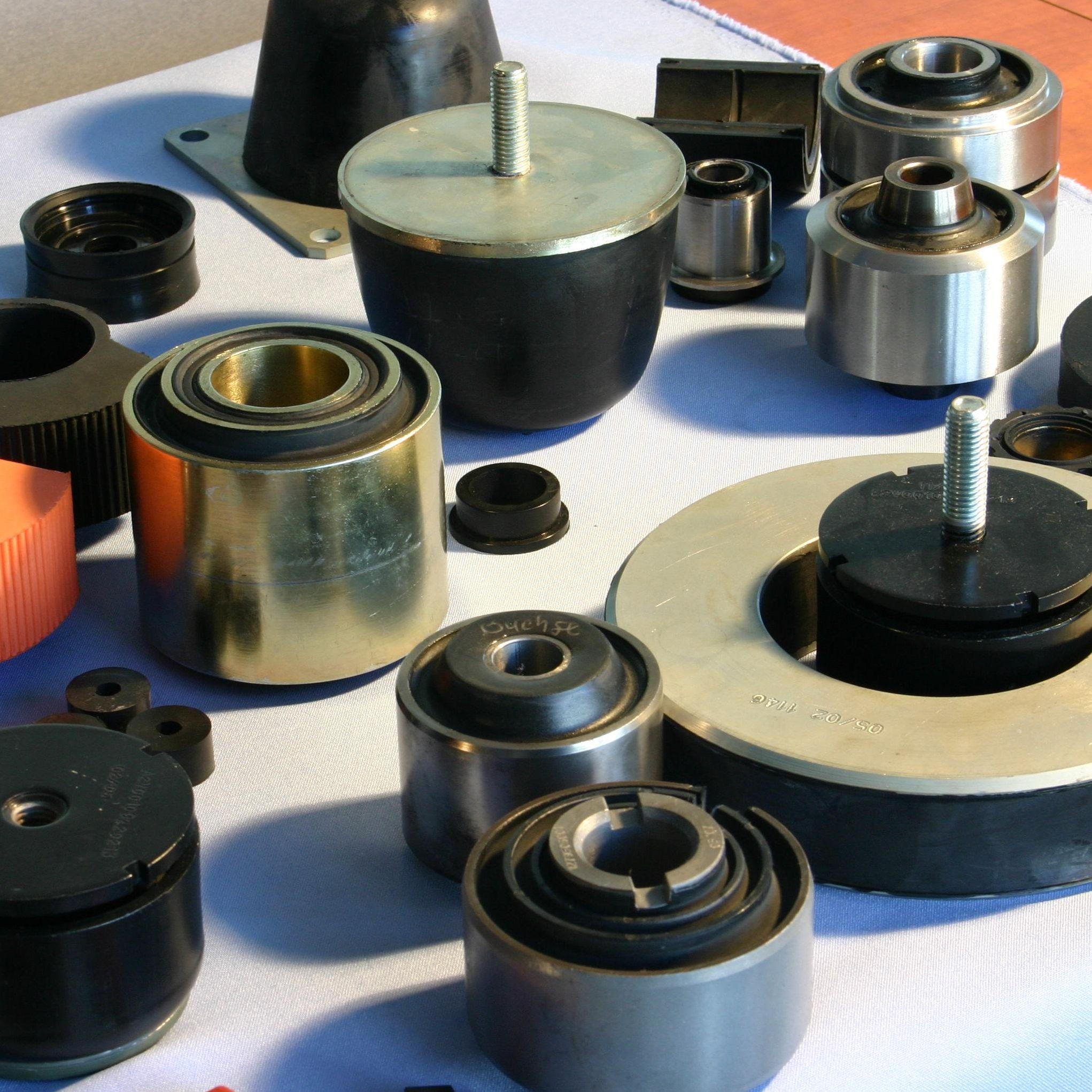 Informatie rubber metaalverbindingen zoals trillingdempers